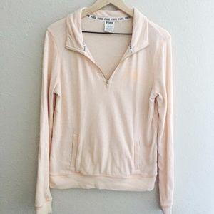 Victoria's Secret PINK Light Pink Sweatshirt